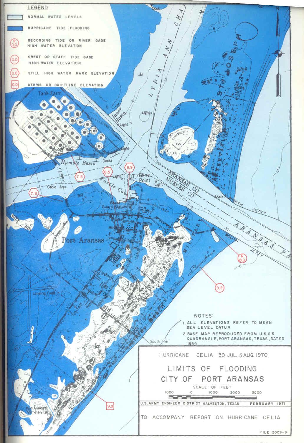 Hurricane Flood And Surge Maps